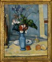 「青い花瓶」