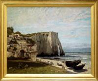 「嵐の後のエトルタの断崖」