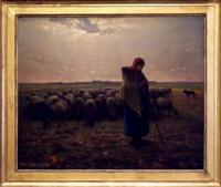 「羊飼いの少女」