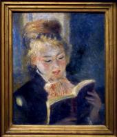 「読書する女」