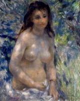 「陽光の中の裸婦」