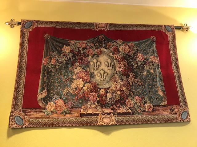 ゴブラン織りタペストリー